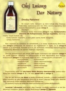Olej lniany dar Natury1